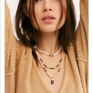 Free people north shore necklace